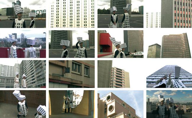 Atlas Urbain. Extrait d'une vidéo produite par Ne pas Plier. Durée 26 mn, 2007-2008.