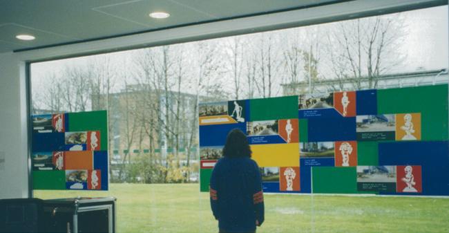 Exposition Vision de Ville. Espace culture, cité scientifique, Villeneuve d'Ascq. 2000.