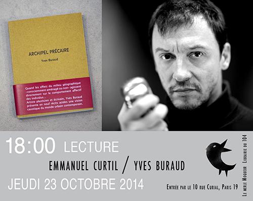 Lecture d'Archipel Précaire par Emmanuel Curtil